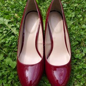 Nickels Red High Heels Shoe